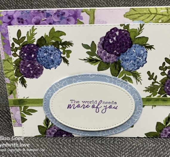 Hydrangea Hill Mothers Day Card for Inkin' Krew blog hop